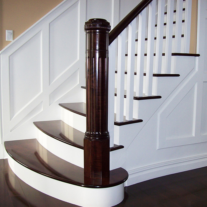 Wrought iron railings balustrades handrails  Almet